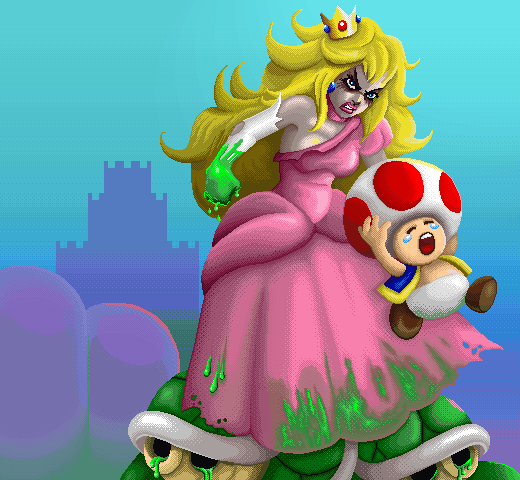 Pixel Peach By Lycan Lnx Demozoo