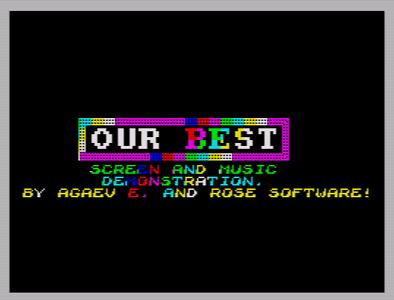 [Screenshot - Our Best]