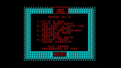 [Screenshot - The Best Hits of M&Z Musics]