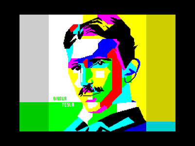 [screenshot of Nikola Tesla]