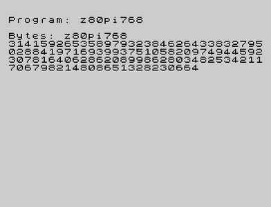 [Screenshot - z80pi (spigot)]