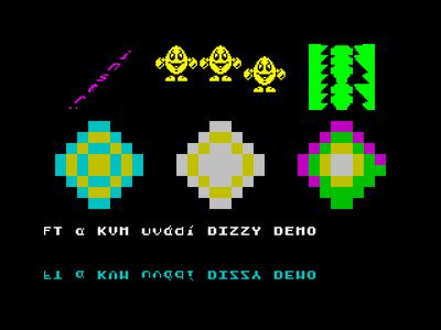 [Screenshot - Dizzy Demo]
