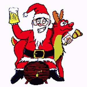 [screenshot of Drunk Santa]