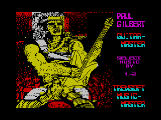 [Screenshot - Paul Gilbert Guitar Master]
