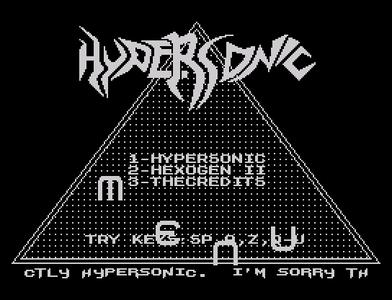 [Screenshot - Hypersonic]
