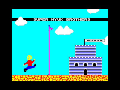 [screenshot of super nyuk brothers]