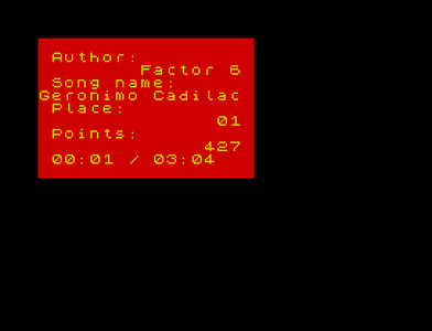 [Screenshot - Forever 8 Spectrum Music]