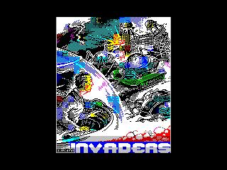 [screenshot of Invaders]
