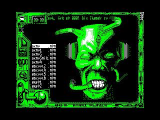 [Screenshot - Atari Player]