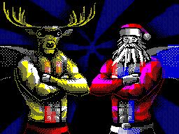 [screenshot of Clausman Returns - The Revenge of Deerman]