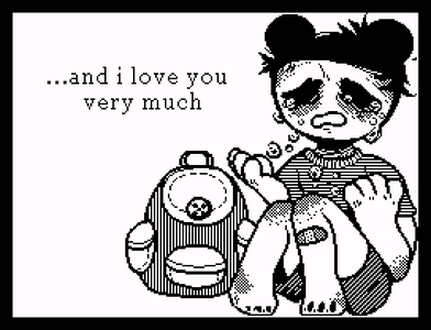 [Screenshot - and i love you very much...]