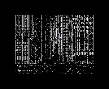 [screenshot of Rain]