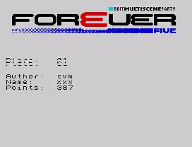[Screenshot - Forever 5 Graphics]