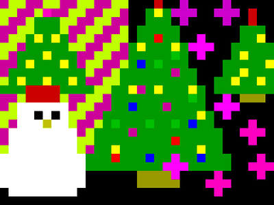 [Screenshot - Christmas in the village]