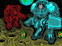 "[screenshot of Mech Z80. Mission: ""Moon""]"