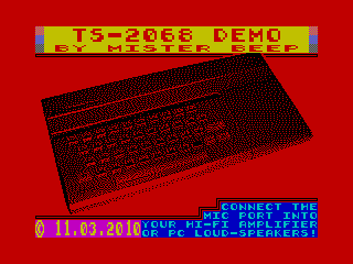 [Screenshot - TS-2068 Demo]