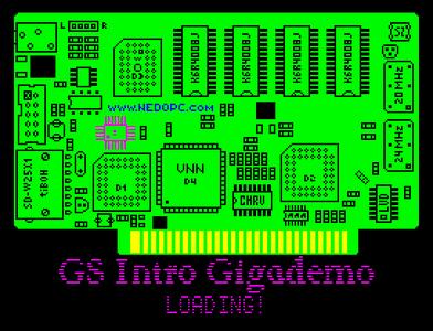 [Screenshot - Intro Gigademo Part 2 GS Card!]