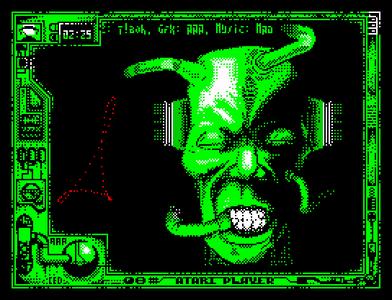 [Screenshot - Atari Player Demo Music]