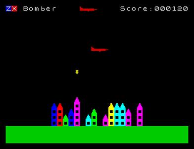 [Screenshot - ZX Bomber]