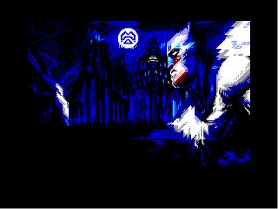 [screenshot of Bat0Con 70% repixelled conversion]