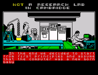 [Screenshot - Not a Research Lab in Cambridge]