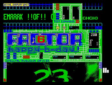 [Screenshot - Gift for Factor 6 (23 Years)]