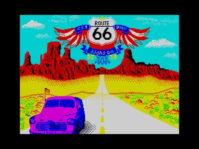 [screenshot of (Get Your Kicks On) Route 66]