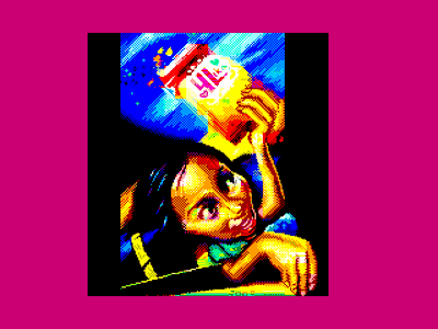[screenshot of MSX Way to The Innocence (4Lika with Love)]
