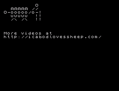 [Screenshot - icabodlovessheep]