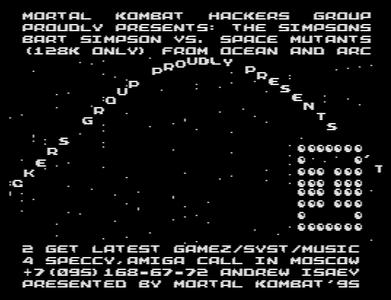 [Screenshot - The Simpsons Bart Vs Space Mutants]