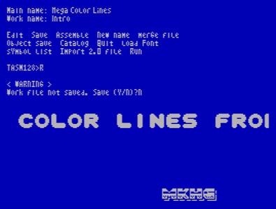 [Screenshot - Mega Color Lines]
