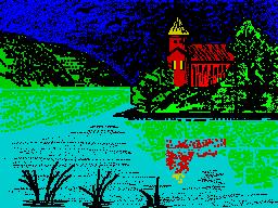 [screenshot of Lake house]