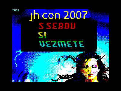 [Screenshot - JHCon 2007 Invitation]