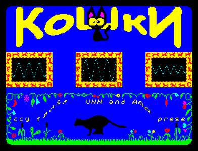 [screenshot of Koshki megademo (Cats)]