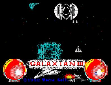 [screenshot of Galaxian III]