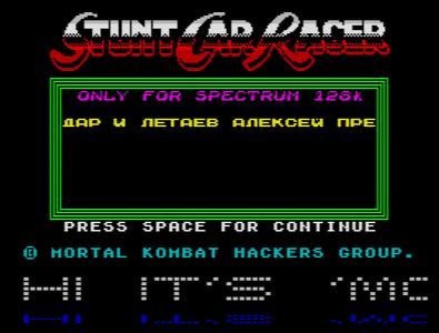 [Screenshot - Stunt Car Racer]