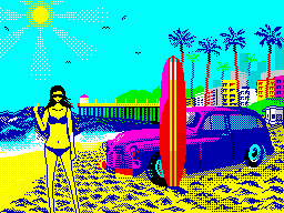 [screenshot of Surf Bunny Beach]
