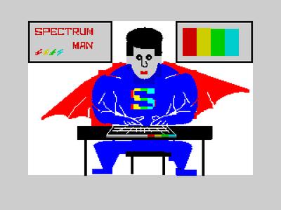 [screenshot of spectrumman]