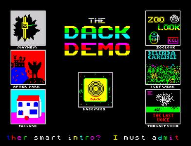 [Screenshot - Dack Demo]