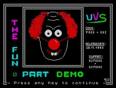 [Screenshot - The Fun Part Demo]