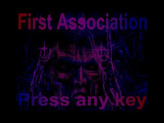 [Screenshot - First Association]