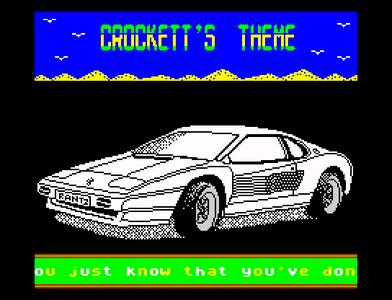 [Screenshot - Crockett's Theme]