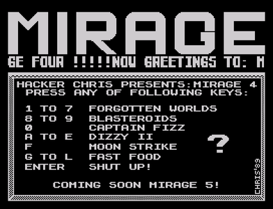 [Screenshot - Mirage 4]