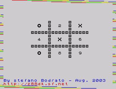 [screenshot of Tic Tac Zac]