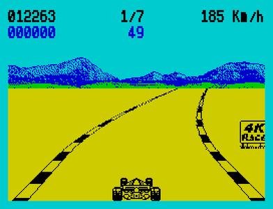 [screenshot of 4K Race Refueled]