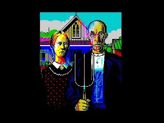[screenshot of American Gothic]