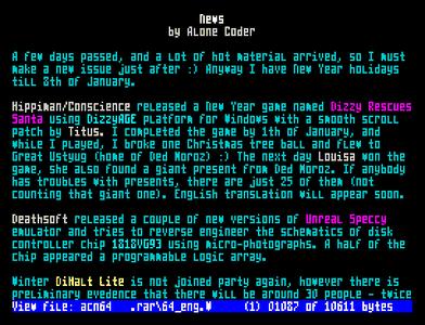 [Screenshot - ACNews #64]