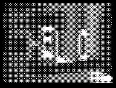 [screenshot of Doxycon 99 4K Intro]