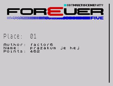 [Screenshot - Forever 5 Music]
