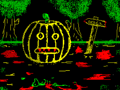 [screenshot of Halloween]